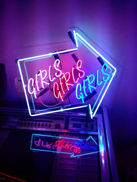 girly lights pretty things pink glitter neon