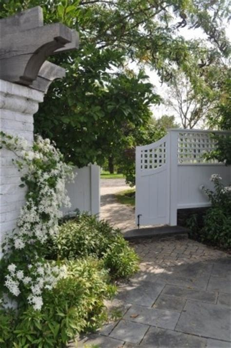 White Trellis Fence 47 best images about fences and gates on