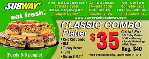 printable subway coupons uk 244 best printable coupons images on pinterest