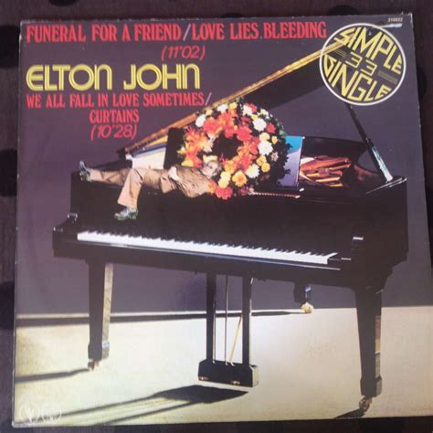 elton john curtains funeral for a friend love lies bleeding we all fall in