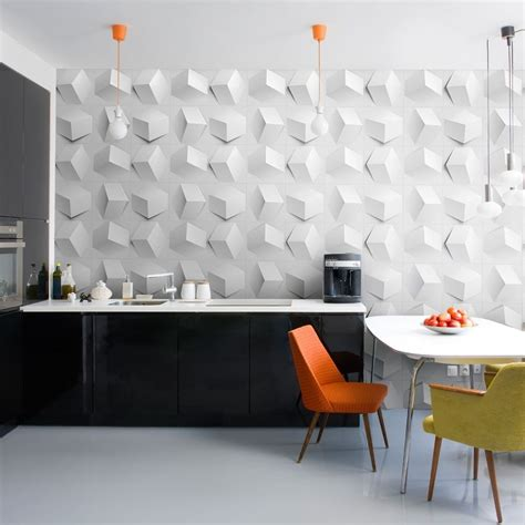 Accent Tiles For Kitchen Backsplash by Creative Hexagonal Wall Feature Feature Wall Mounted