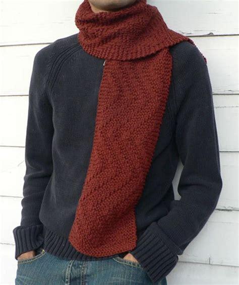 mens knit scarf pattern s knit scarf pattern a knitting