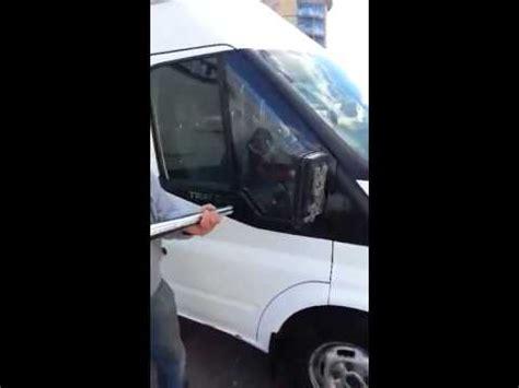 ford transit locking door fault fix