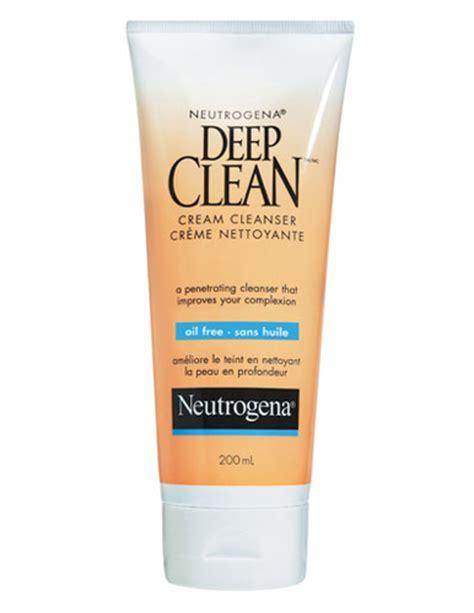 deep clean neutrogena 194 174 deep clean 194 174 cream cleanser improves skin 226 s