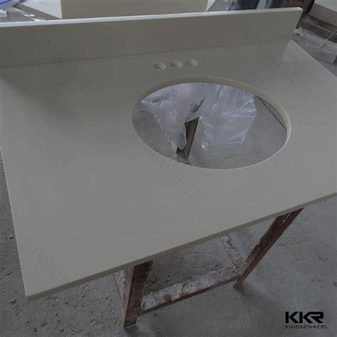 Pre Cut Kitchen Sink Countertop Kkr Bathroom Sink Countertops Quartz Bowl Vanity