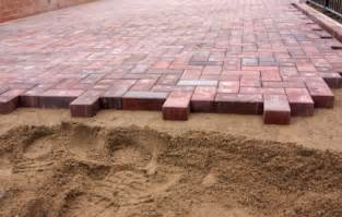 Installing Patio Pavers On Sand How To Install A Laid Paver Patio Buildipedia