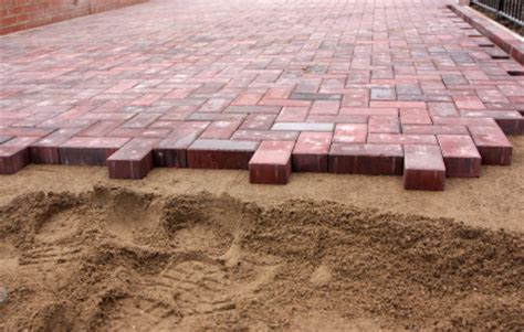 how to lay a patio with pavers how to install a laid paver patio buildipedia