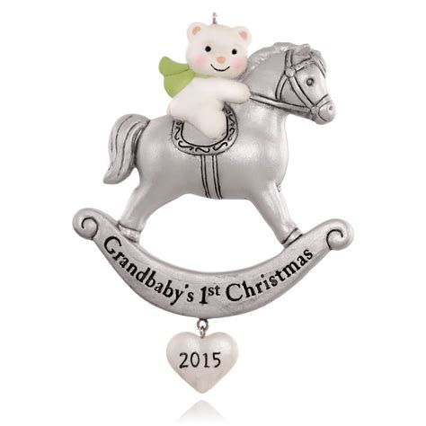 2015 grandchild s first christmas hallmark keepsake