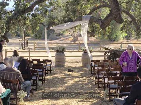 rustic wedding venues in southern california 2 agoura ca officiant for paramount ranch western town