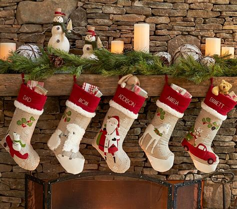 Christmas Stocking Ideas | big heart and giant stocking