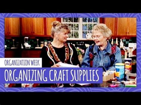 youtube tv hgtv organizing craft supplies with carol duvall hgtv