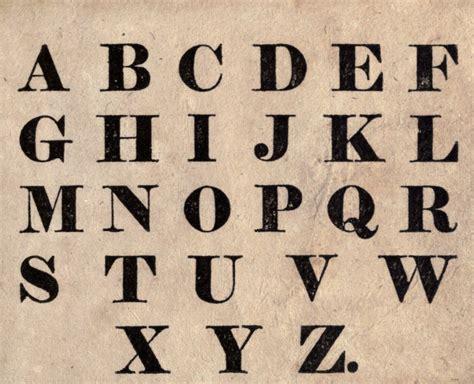 Letter Fonts typography font juvenile alphabet block print