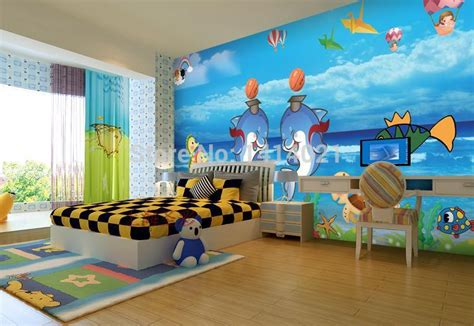 wallpaper for kids bedrooms sitting room kids room tv setting wall bedroom wallpaper
