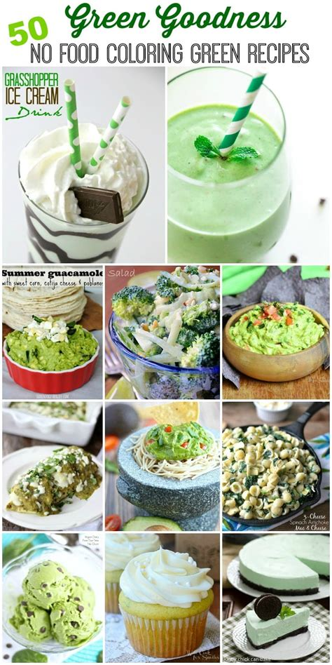green goodness collection   food coloring green