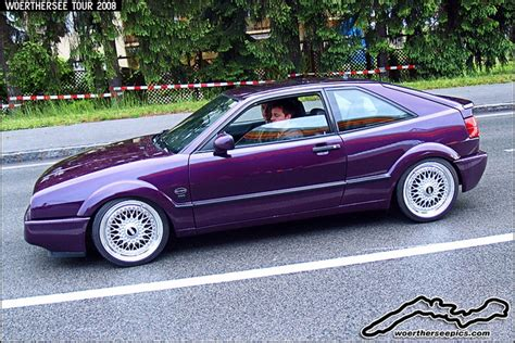 volkswagen corrado purple purple vw corrado on bbs wheels cars pinterest