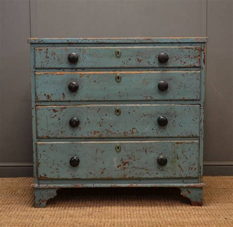 Antique Painted Chest Of Drawers by Rustic Painted Georgian Antique Chest Of Drawers