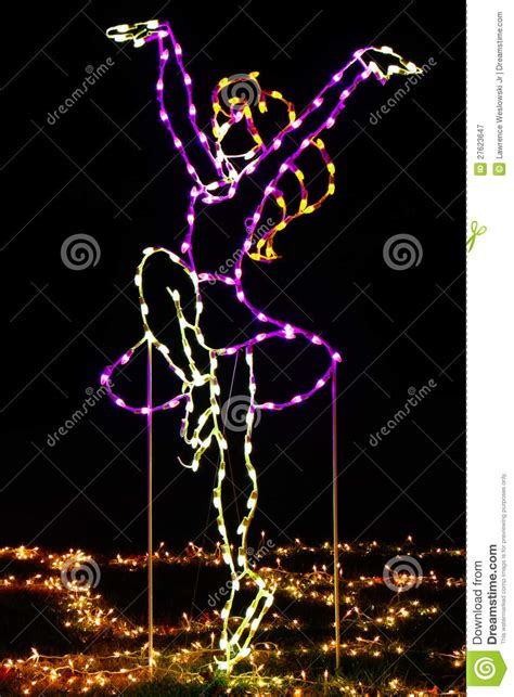 christmas lights figure skater purple dress royalty