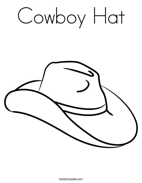 printable numbers for drawing out of hat cowboy hat coloring page twisty noodle