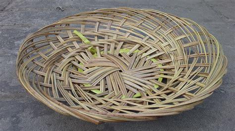 Piring Anyam Piring Lidi 25 Cm Piring Bambu Piring Rotan jual piring anyaman lidi bambu