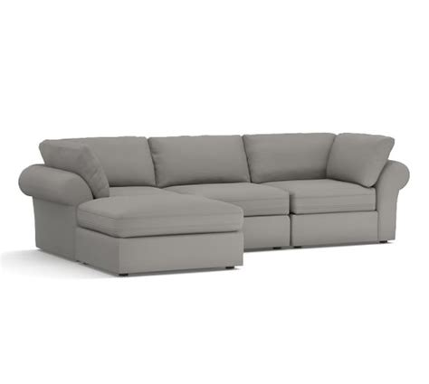 pb air upholstered 4 sofa with chaise sectional