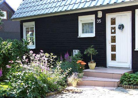 Hauseingang Holzhaus Blockhaus Fassade Wirkt Durch Fenster