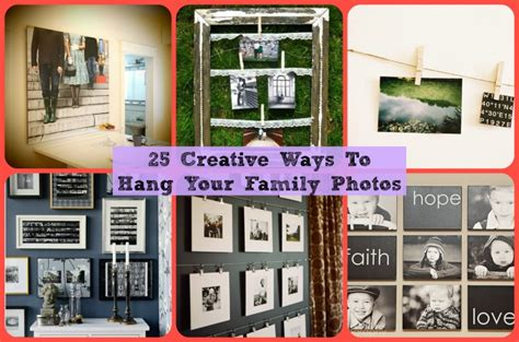 where to display family photos creative ways to display family pictures diy cozy home