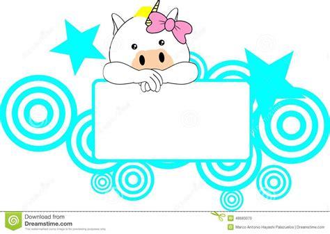 free eps format editor cute unicorn baby girl copyspace stock vector image
