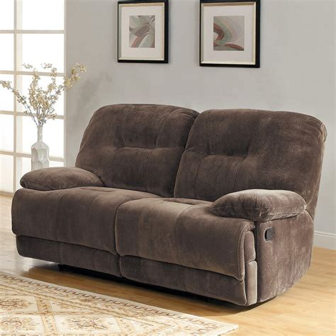 plush loveseat clifton plush dual reclining loveseat sofas loveseats