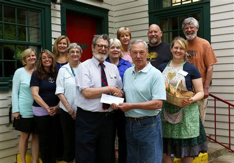 Clay County Food Pantry by Empty Bowls Presents Checks To Local Food Banks C