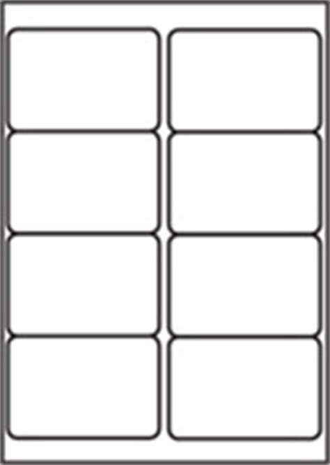 Label Template 8 Per Sheet l7165 8 labels per page 8 up per a4 sheet