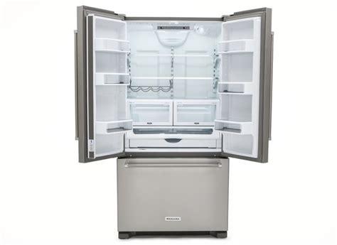 consumer reports refrigerators door kitchenaid krfc302ess refrigerator consumer reports