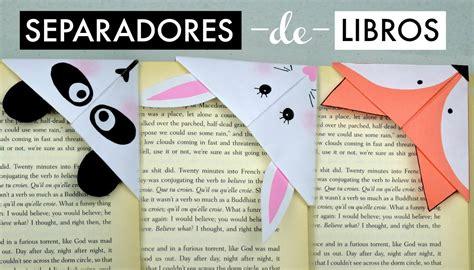 manualidades separadores kawaii para libros regreso a separadores de libros panda conejo y zorro espacio