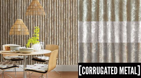 metal accent wall corrugatedmetal