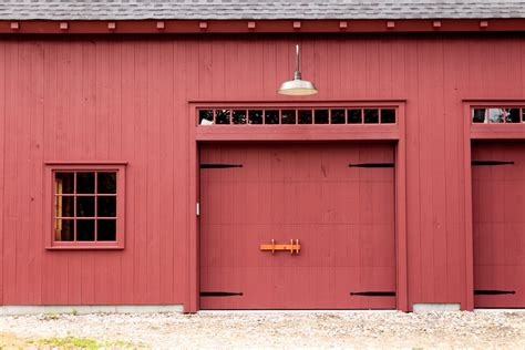 Overhead Barn Doors A New Barn In An Historic District The Barn Yard Great Country Garages