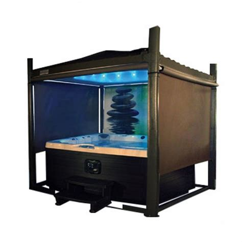 bathtub side cover automated hot tub cover gazebo long side 7ft to 8ft covana oasis