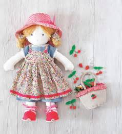 my rag doll adorable dolls to sew sewandso