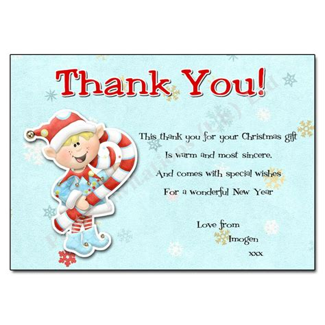 free fill in the blank christmas thank you cards google