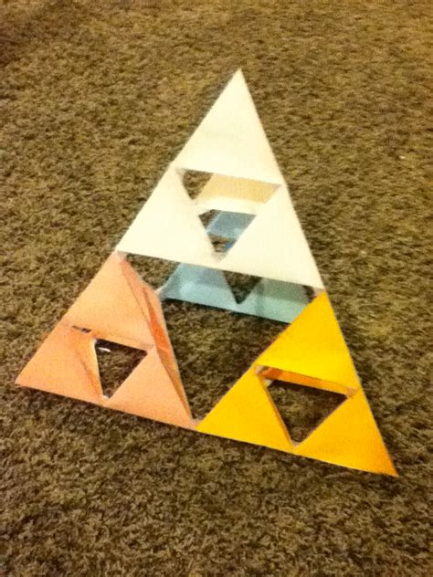 Triforce Papercraft - triforce by rocksrcool4597 on deviantart