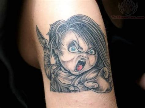 chucky tattoo best tattoos of chucky from child s play