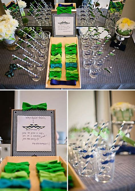 bow tie themed baby shower decorations 25 best ideas about bow tie napkins on