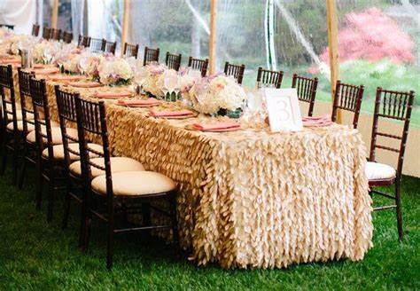Leaf Petal Linens ? Bella Angel Event Decor