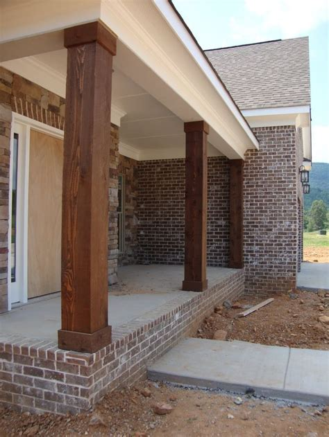 Cost Of Brick Porch 1000 ideas about porch columns on front porch columns columns and front porch remodel