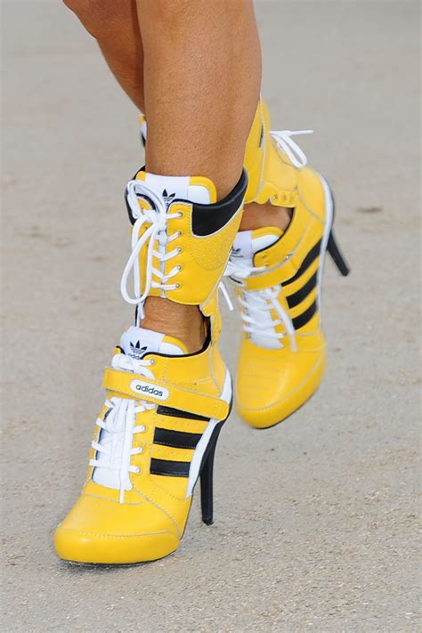 sneakers with high heels high heel adidas sneakers is this a do or a don t vote