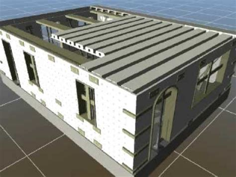 How To Build A Concrete Block House by Insulated Concrete Forms Ireland Youtube