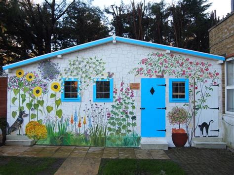 painting murals on outside walls 25 best ideas about garden mural on mural ideas murals and pip studio