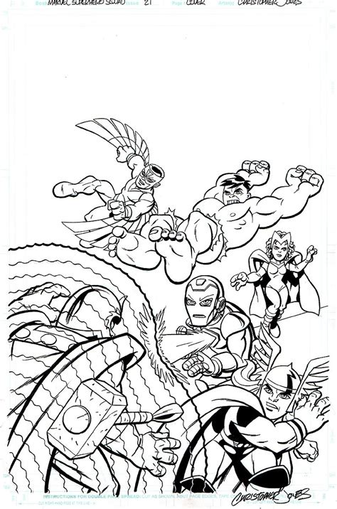 marvel adventures coloring pages marvel superhero squad coloring pages superhero coloring
