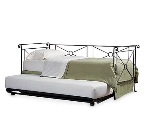 Iron Daybed With Trundle Caign Iron Daybed W Trundle Mila S Bedroom