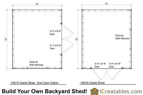 storage building floor plans 12x10 shed plans 12x10 backyard shed plans icreatables