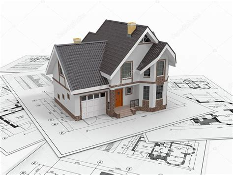 design house construction free residential house on architect blueprints housing project