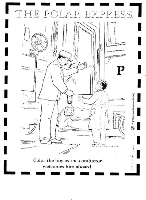 polar express coloring pages pdf polar express coloring pages printable search results